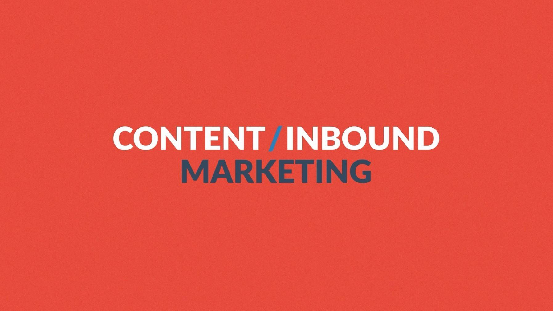 Erklärung: Content / Inbound Marketing ist ein kompletter Marketing Prozess, der berücksichtigt wie sich Kunden heute informieren und wie sie kaufen